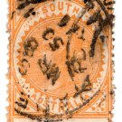 (I.B) Australia Postal : South Australia 10d
