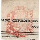 (I.B) George IV Revenue : Newspaper Duty 1d (Punch)