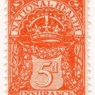(I.B) George V Revenue : National Health & Insurance 5d