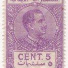 (I.B) Italy (Libya) Revenue : Duty Stamp 5c (1914)