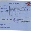 (I.B) Edward VII Revenue : County Courts Ireland 6d (complete document)