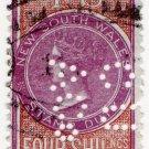 (I.B) Australia - NSW Revenue : Stamp Duty 4/- (Commercial Union perfin)