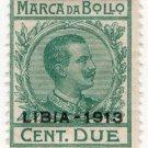 (I.B) Italy (Libya) Revenue : Marca da Bollo 2c