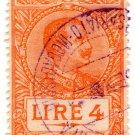 (I.B) Italy (Eritrea) Revenue : Duty Stamp 4L