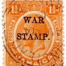 (I.B) Jamaica Postal : War Stamp 1½d
