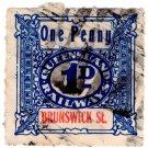 (I.B) Australia - Queensland Railways : Parcel 1d (Brunswick Street)