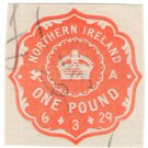 (I.B) George V Revenue : Impressed Duty £1 (Northern Ireland)