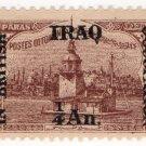 (I.B) Iraq Postal : British Occupation ¼a on 5pi OP