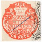 (I.B) QV Revenue : Ireland Bill or Note 3/-