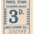 (I.B) Caledonian Railway : Parcel 3d (Glasgow)