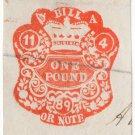 (I.B) QV Revenue : Ireland Bill or Note £1