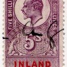 (I.B) Edward VII Revenue : Inland Revenue 5/-