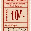 (I.B) Dundee & Arbroath Joint Railway : Parcel 10/-