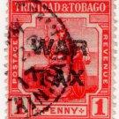 (I.B) Trinidad & Tobago Postal : War Tax 1d