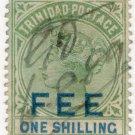 (I.B) Trinidad & Tobago Revenue : Fee 1/-
