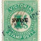 (I.B) Australia - Victoria Revenue : Swine Duty 1/-