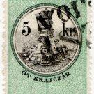 (I.B) Austria/Hungary Revenue : Stempelmarke 5 Kr