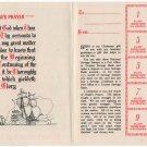(I.B) Cinderella Collection : National Savings Card (Christmas 1941)