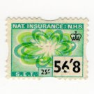 (I.B) Elizabeth II Revenue : National Insurance 56/8d