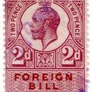 (I.B) George V Revenue : Foreign Bill 2d