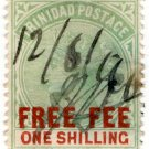 (I.B) Trinidad & Tobago Revenue : Free Fee 1/-