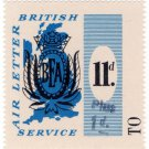 (I.B) Cinderella Collection : BEA Airway Letter Service 12d (surcharged)