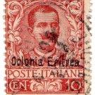 (I.B) Italy Colonial Postal : Eritrea 10c OP