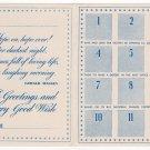 (I.B) Cinderella Collection : National Savings Card (Princesses 1941)