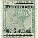 (I.B) Natal Telegraphs : 1/- on £1 OP
