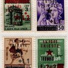 (I.B) Italy Postal : Allied Military Government Overprints (Trieste 1945)