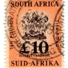 (I.B) South Africa Revenue : Duty Stamp £10
