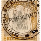 (I.B) Rhodesia/British Central Africa Revenue : Duty £10 (Port Herald)