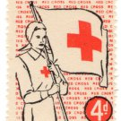 (I.B) Cinderella Collection : Red Cross Fund-Raising Stamp 4d
