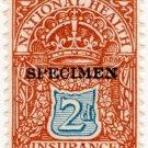 (I.B) George V Revenue : National Health & Insurance 2d