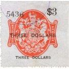 (I.B) QV Revenue : Consular Service $3