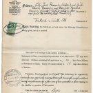 (I.B) George V Revenue : Judicature Fees 5/- (complete document)