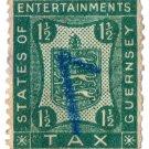 (I.B) Guernsey Revenue : Entertainment Tax 1½d