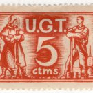 (I.B) Spain Cinderella : Civil War Charity Stamp 10c (UGT)