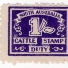(I.B) Australia - South Australia Revenue : Cattle Duty 1/-