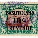 (I.B) Basutoland Revenue : Duty 10/-