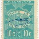 (I.B) Australia - Queensland Revenue : Buffalo Fly 10c