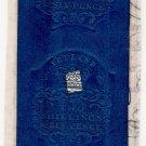 (I.B) QV Revenue : Ireland Impressed Duty 5/- (Antrim 1865)