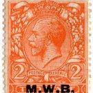 (I.B) George V Commercial Overprint : Metropolitan Water Board