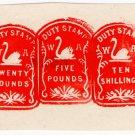 (I.B) Australia - Western Australia Revenue : Impressed Duty £25 10/-