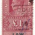(I.B) George VI Revenue : Law Courts (Scotland) £1