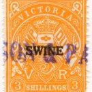 (I.B) Australia - Victoria Revenue : Swine Duty 3/-