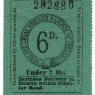 (I.B) Midland Great Western Railway (Ireland) : Parcel 6d