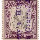 (I.B) Rhodesia/British Central Africa Revenue : Duty £1