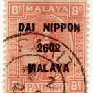 (I.B) Malaya States Revenue : Pahang (Japanese Occupation) 8c OP