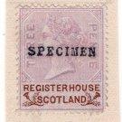 (I.B) QV Revenue : Register House Scotland 3d